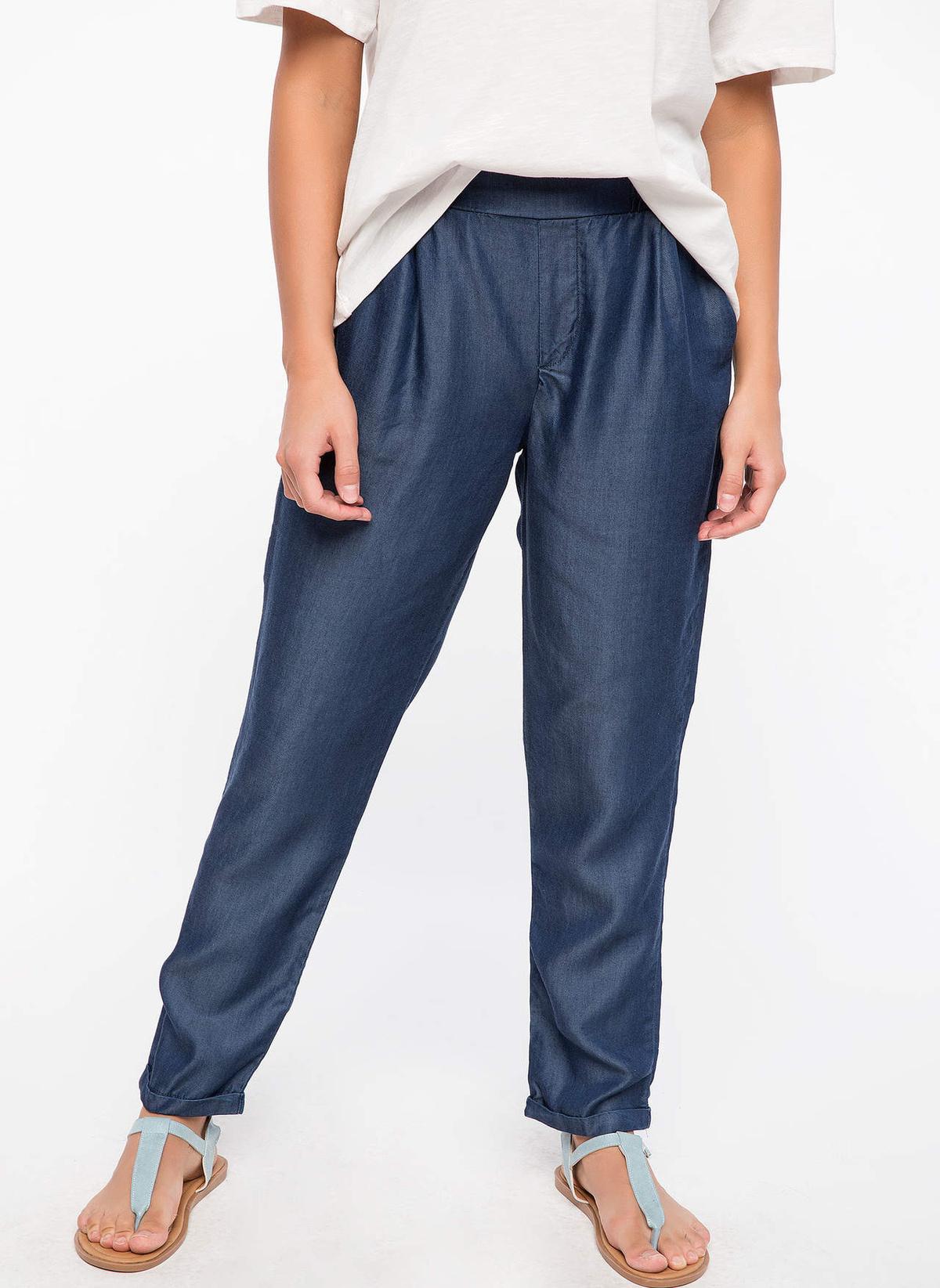 Defacto Lastik Bel Detaylı Denim Pantolon J5996az18hsbe480jean Pantolon – 69.99 TL